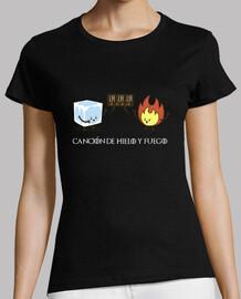 Canción de hielo y fuego - Camiseta mujer