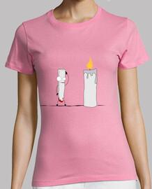 candle envy ladies t-shirt