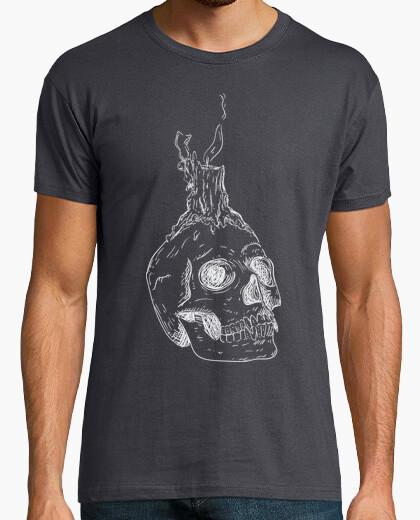 Camiseta Candle skull