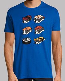 cane boston terrier sushi nigiri