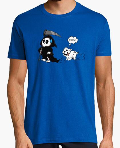 T-shirt cane caccia morte