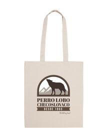 cane lupo cecoslovacco stemma borsa