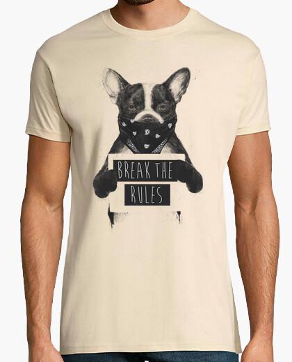 T-shirt cane ribelle