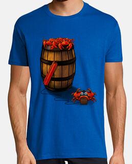 cangrejos en el barril