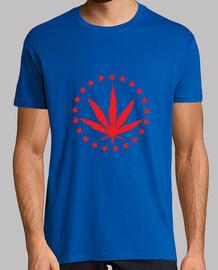 cannabis y / o malezas / almohadilla /