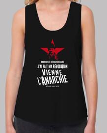 canotta donna - alexandre marius jacob - anarchica