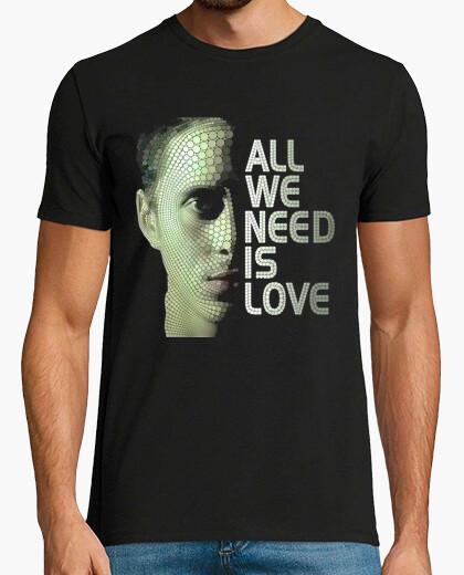 Camiseta CANSERBERO - Lo que Necesitamos es Amor