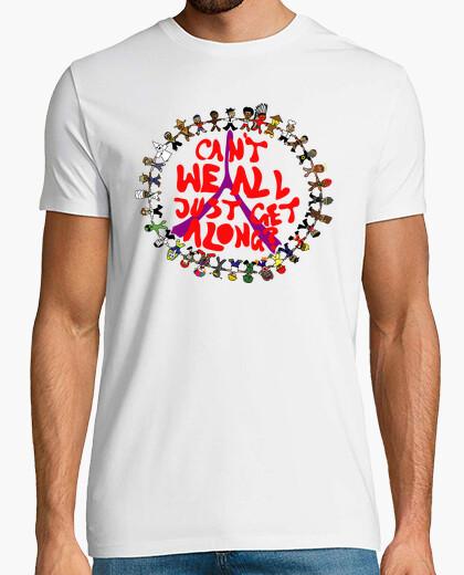 Camiseta Can't We All Just Get Along? (¿No Podemos Llevarnos Bien?)