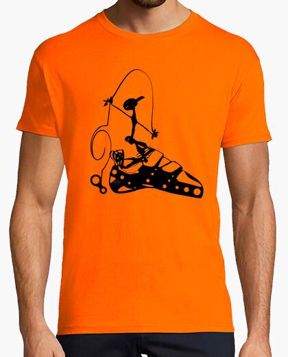 Camiseta cantando escalada whit