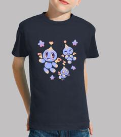 caos lindo - camisa de los niños