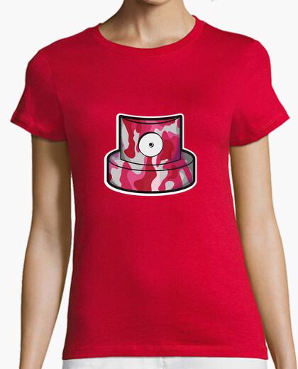 Camiseta Cap pink w