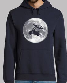 cape duc sur la lune sweatshirt h