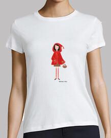 Caperucita - Mujer, manga corta, blanca