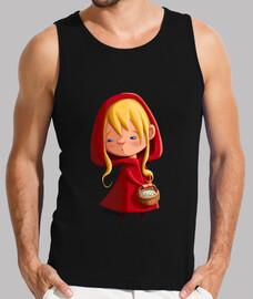Caperucita Roja - Sin mangas chico