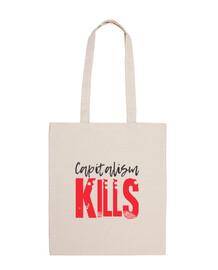 CAPITALISM KILLS (black)