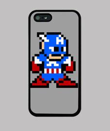 Capitán América 8 Bits (iPhone)