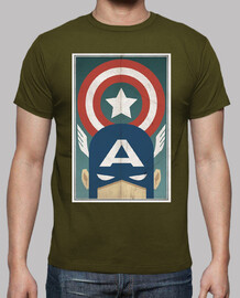 Capitan America Comic Retro cine TV
