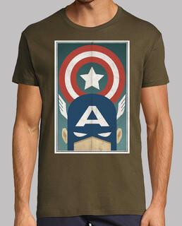 Capitan America Comic Retro cine TV