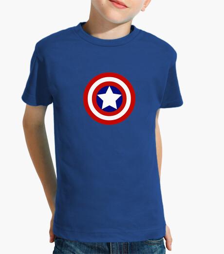 Ropa infantil Capitán América Logo