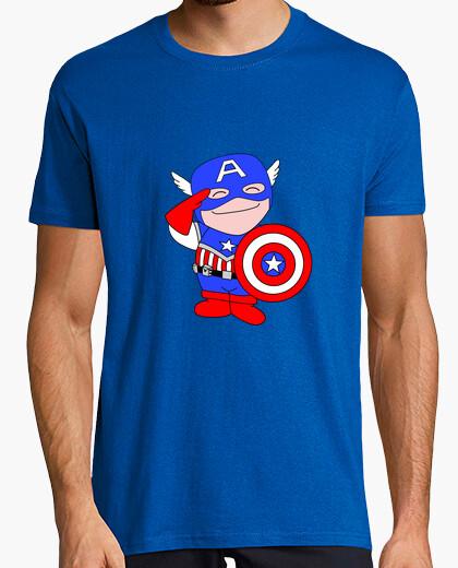 Camiseta Capitán América Saki