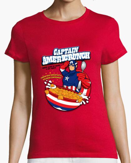 Camiseta capitán americrunch