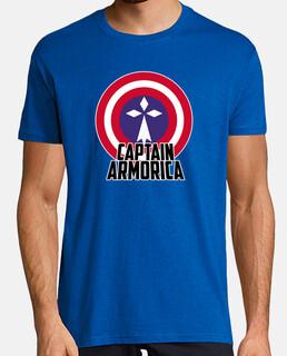capitán armórica - camiseta