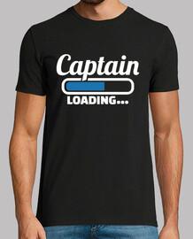 capitán cargando