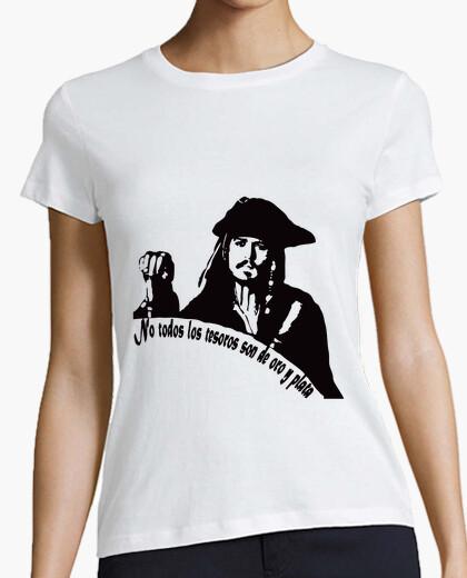 Camiseta Capitán Jack Sparrow