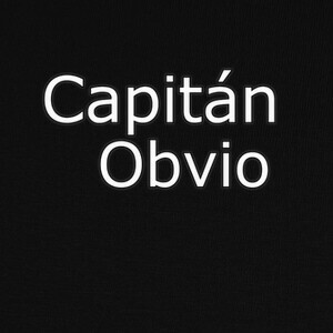 Capitán obvio T-shirts