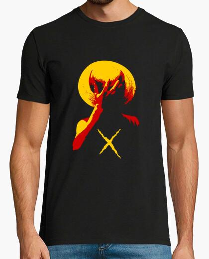 Camiseta capitán pirata sombrero de paja