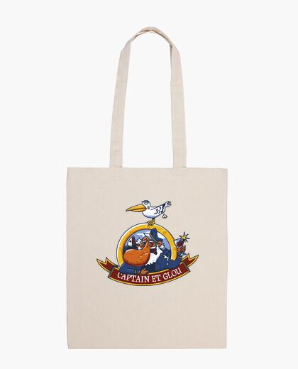 Bolsa Capitán y glu