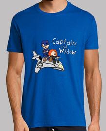 capitán y viuda
