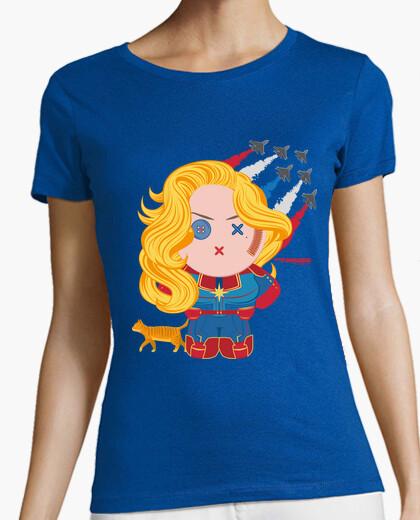 Camiseta Capitana Danvers