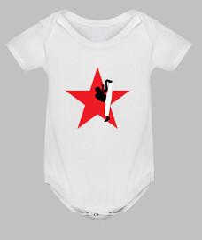 capoeira cuerpo del bebé