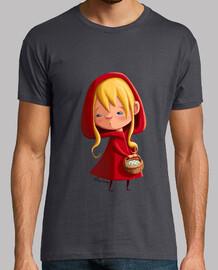 cappuccetto rosso - t-shirt da uomo