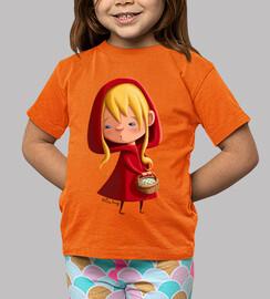 cappuccetto rosso - t-shirt figlio