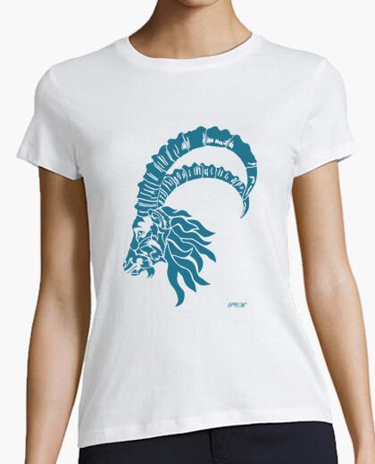 Camiseta Capricornio azul (chica)