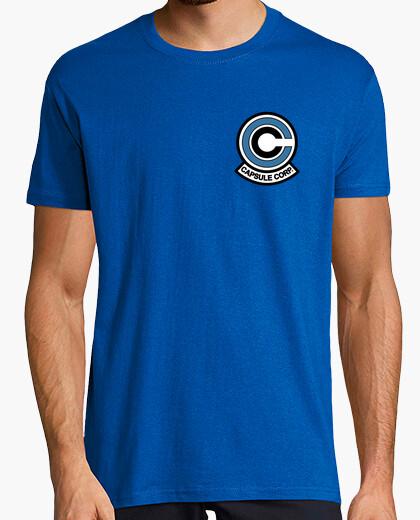 Capsule corp logo t-shirt