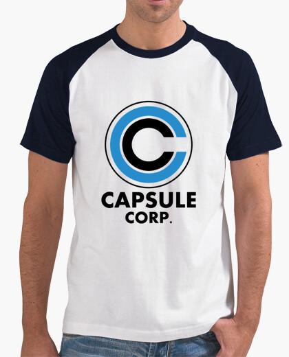 Camiseta Capsule corp logo
