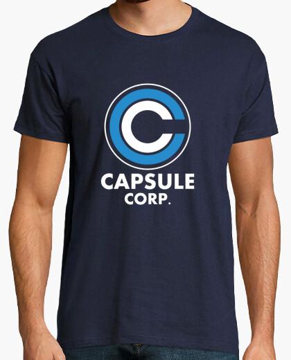 Tee-shirt Capsule corp logo
