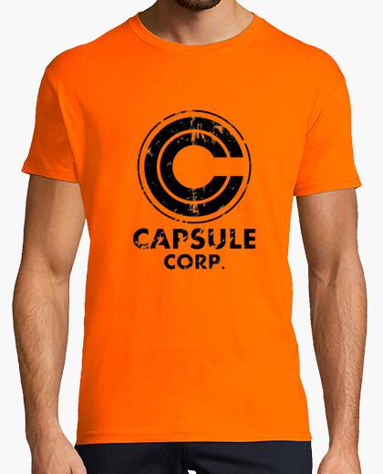 Camiseta Capsule corp vintage
