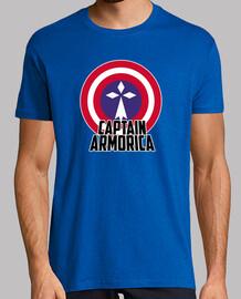 captain armorica - t-shirt uomo