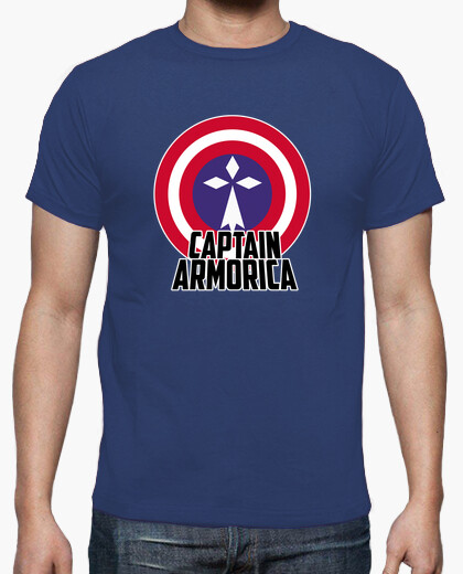 Captain armorica - t-shirt uomo