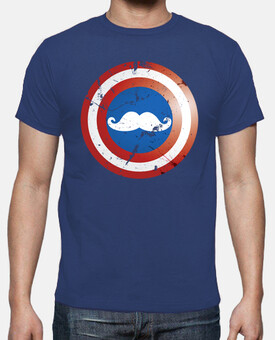 Captain Moustache Escudo