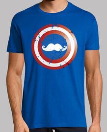 captain mustache shield