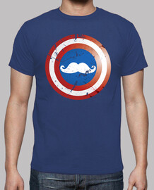 Captain mustache shield