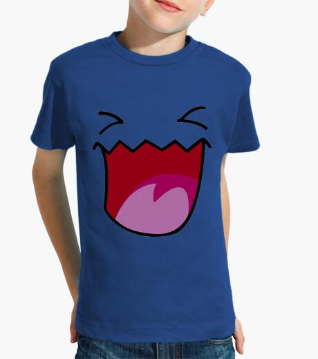 Ropa infantil Cara camisetas friki