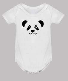 cara de oso panda