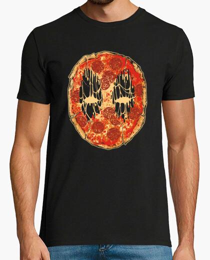 Camiseta cara de pizza