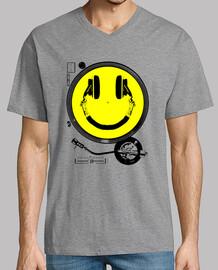 Cara Sonriente - Turntable y Cascos